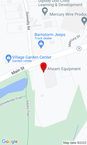 Google Map of Ahearn Equipment 460 Main Street, Spencer, MA, 01562