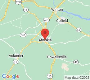 Job Map - Ahoskie, North Carolina  US
