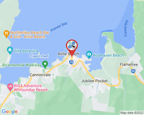 Airlie Beach google map