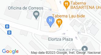 Txiberri mapa