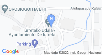 IURRETAKO UDALA mapa