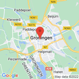 Google map of De Korenbeurs, Groningen