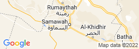 As Samawah map
