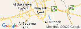 Unaizah map
