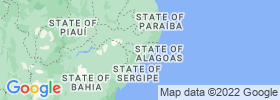 Alagoas map