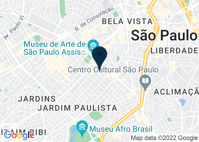 Map of Alameda Santos, 1123, São Paulo, Brazil