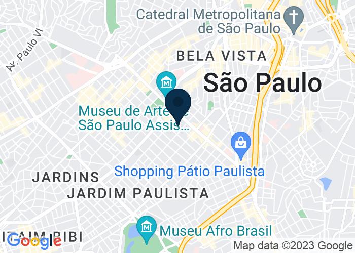Map of Alameda Santos 1123-Jardins, Sao Paulo 01419, Brazil