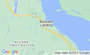 Map of Burwash Landing Resort & RV