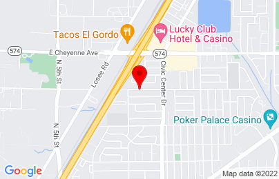 Google Map of Albany595 E. Brooks Ave. Suite 305  North Las Vegas, NV. 89030, NY
