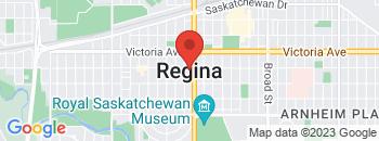 Google Map of Albert+St.+S.+%26+Hwy+%231+%26+6%2CRegina%2CSaskatchewan+S4P+3A8