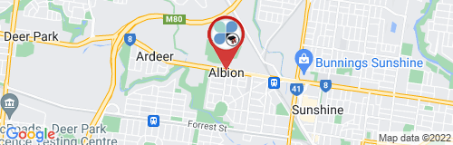 Albion google map