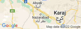 Nazarabad map