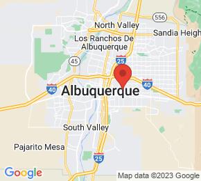 Job Map - Albuquerque, New Mexico  US