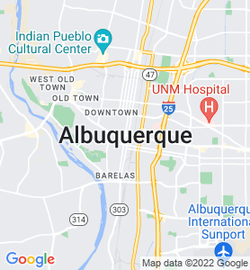 Albuquerque NM Map