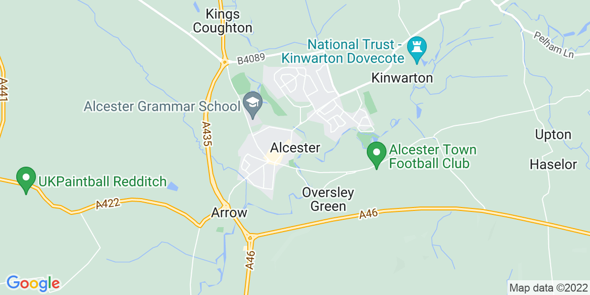 Map: Executive PA - Senior Management Team job in Alcester
