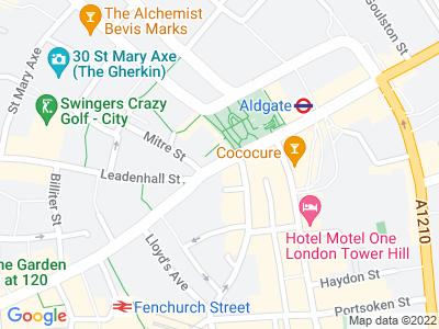 Personal Injury Solicitors in Aldgate