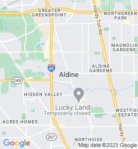 Aldine TX Map