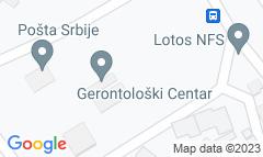 Google Map of Aleja Maršala Tita 31, Subotica