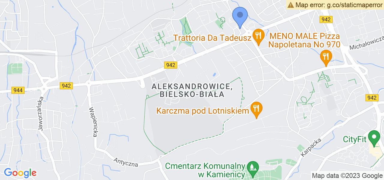 Osiedle Aleksandrowice w Bielsku-Białej – w tych punktach ekspresowo wyślesz turbinę do autoryzowanego serwisu