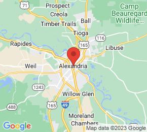 Job Map - Alexandria, Louisiana  US