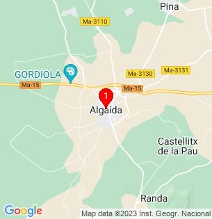 Google Map of Algaida, Baleares, Spain