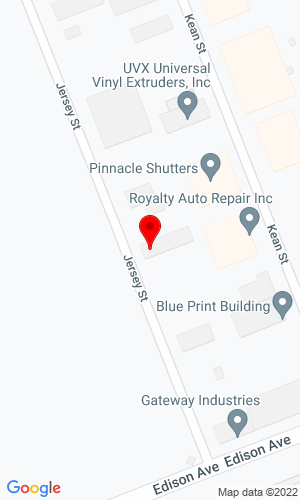 Google Map of All Island Equipment 39 Jersey Street, West Babylon, NY, 11704