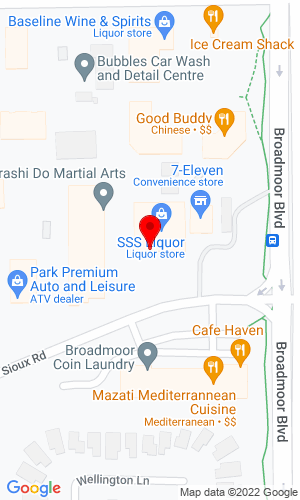 Google Map of All Season Equipment LTD 14 Sioux Road, Sherwood Park, AB, T8A 4X1