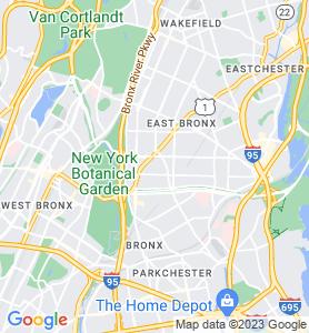 Allerton NY Map