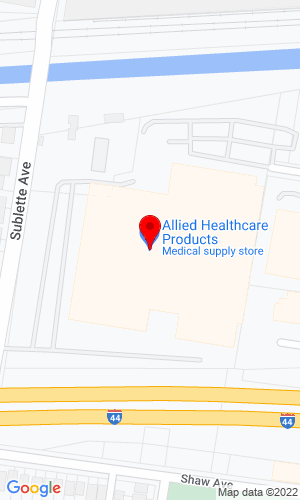 Google Map of Allied Construction Equipment 4015 Forest Park Aven, St. Louis, MO, 63108