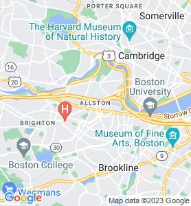 Allston MA Map