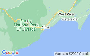 Map of Fundy/Headquarters Campground