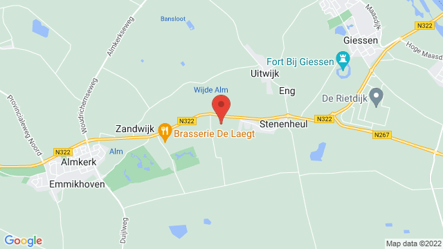 Almkerk+Used op Google Maps
