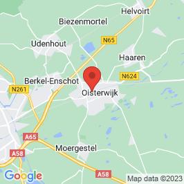 Google map of Leerfabriek, Oisterwijk
