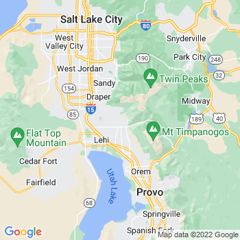 Map of Alpine, UT