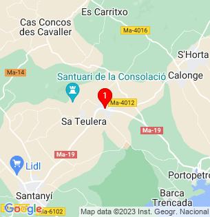 Google Map of Alquería Blanca, Baleares, Spain