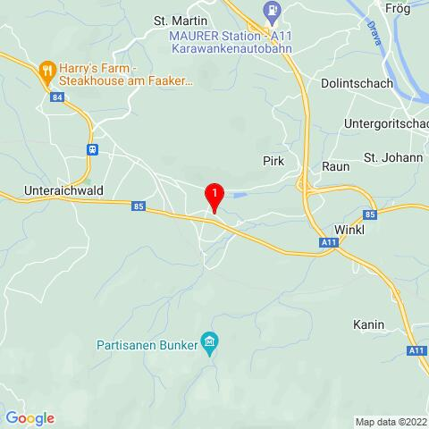 Google Map of Alte Straße 23, 9581 Ledenitzen