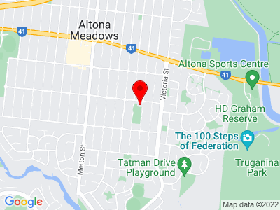 Google Map of Altona Meadows Community Centre