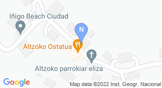 Altzoko udaletxea mapa