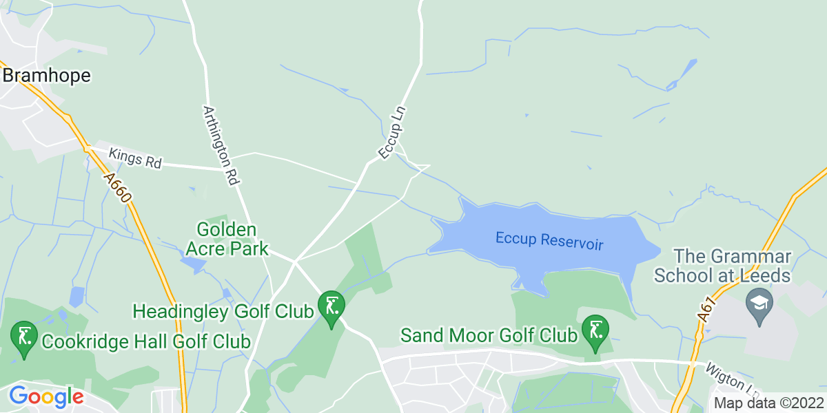 Map: Healthcare Assistant (HCA) position in Alwoodley