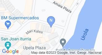 Beheko estankoa mapa