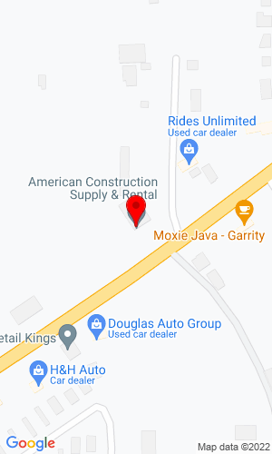 Google Map of American Construction Supply & Rental 601 36th Street, Nampa, ID, 83687