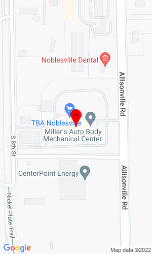 Google Map of American Eagle Equipment 16100 Allisonville Road, Noblesville, IN, 46060