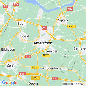 Werkgebied van onze bestrijder in Amersfoort