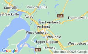 Map of Gateway Parklands Campground
