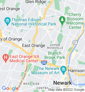 Ampere NJ Map