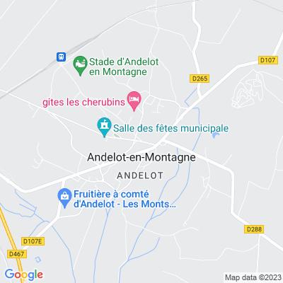 bed and breakfast Andelot-en-Montagne
