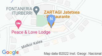 Baliarraingo udaletxea mapa