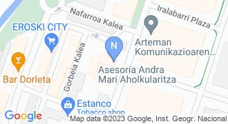 Andra Mari aholkularitza mapa
