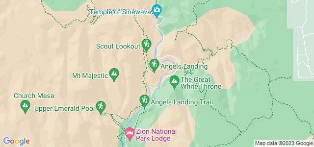 Angels Landing, Parque Nacional de Zion, Utah, Estados Unidos