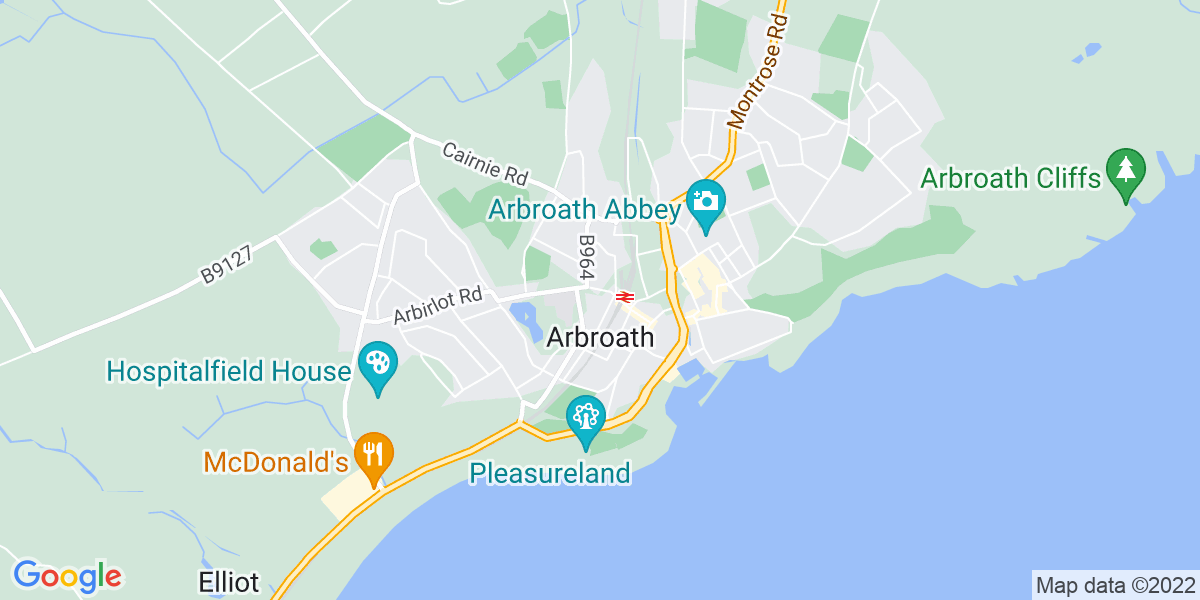 Map: Site Manager job role in Arbroath